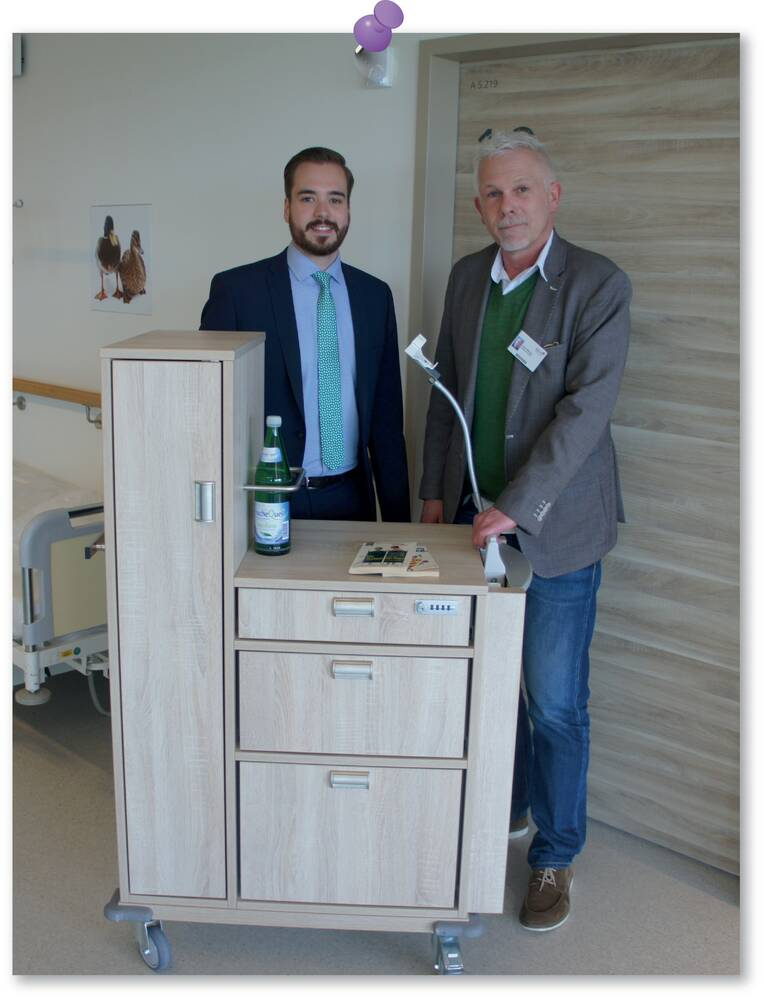 "Patientenschrank ""Made in Mainz"""